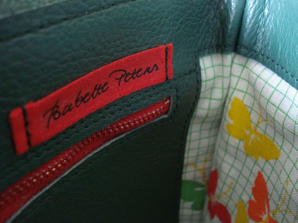 schoudertasje-groen