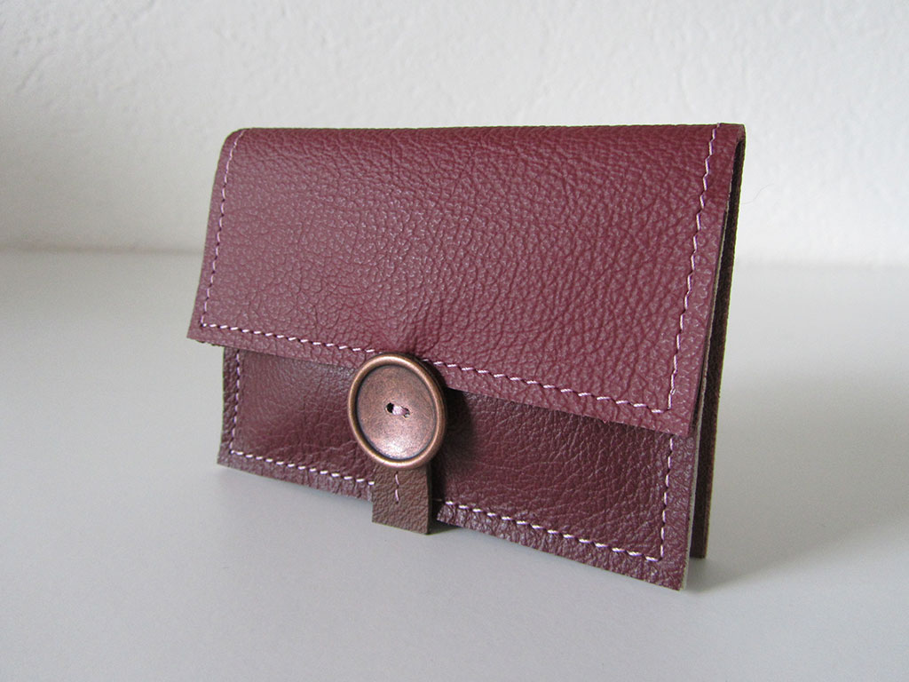 Portemonnee 2-vks rouge